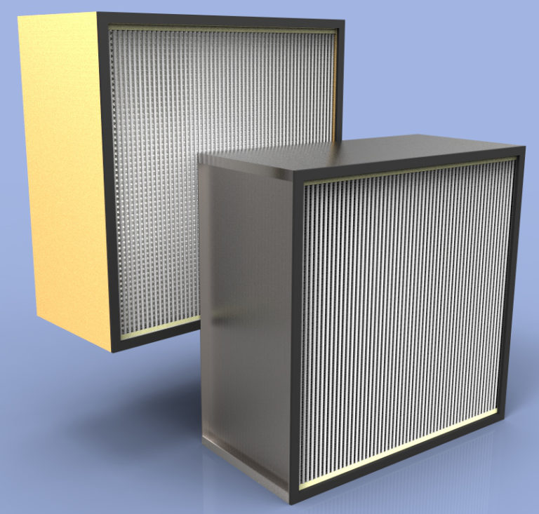 HEPA filter, Industrial Maid Replacement HEPA Filter FH12-2424, FH06-2424, FH122424, FH062424, Commercial Air Filtration System