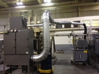 Industrial Maid OM36Vx2 Oil Mist Collector and Eliminator