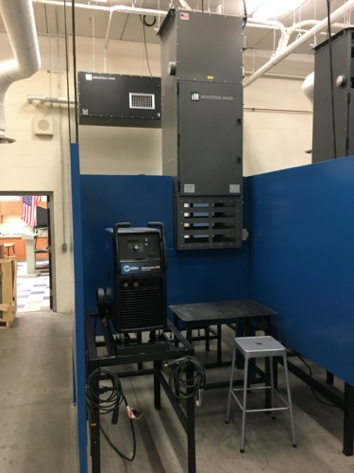 Industrial Maid, High School Vocational Shops, Ambient Air Cleaners, T3000, Industrial Air Filtration